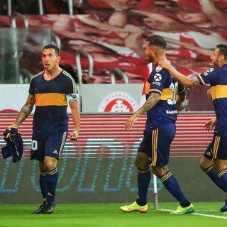 Gol de Boca: Carlos Tevez ante Inter en Brasil