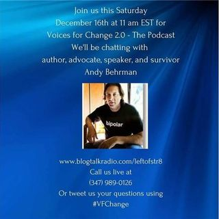 VFC 2.0:  Special Guest is Author and Advocate Andy Berhman