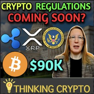 SEC Hester Pierce Crypto Regulations Update - Ripple XRP & Bitcoin $90K By End Of April?