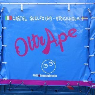 #oltrape Apecar journey has started!