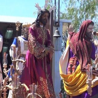 Domingo de Ramos 2017. Salida Hermandad de Pasión