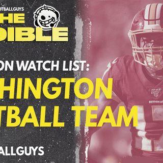 2021 Fantasy Football - Washington Football Team Preseason Watch List