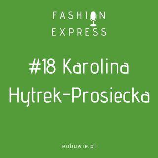 Stacja #018 - Szczepan rozmawia z Karoliną Hytrek-Prosiecką, dress code w telewizji