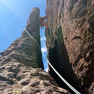 Classic on the rocks: Punta della Rossa, Spigolo Sud-Est
