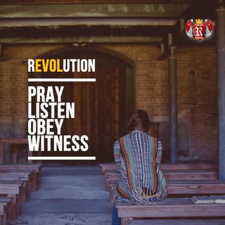 #urtherEVOLution: Pray, Listen, Obey, Witness - Pr Andy Yeoh