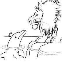 The Lion & The Dolphin