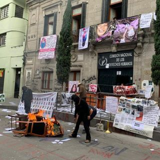CNDH no denunciará a ocupantes de instalaciones