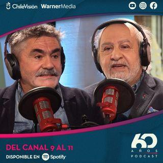 El mítico cambio del canal 9 al 11 con Miguel Littín y Vicente Sabatini