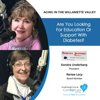 3/19/19: Sondra Underberg and Renee Lacy with Diabetes Support Services | Are you looking for education or support with diabetes?