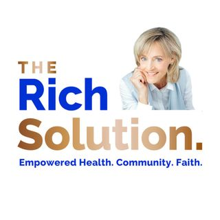 "The Rich Solution - 20200928, Stefanie Freeman, ""My Journey To Health Through Reducing Inflammation"""