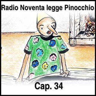 Pinocchio Capitolo 34