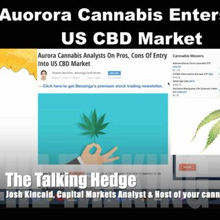 Aurora Cannabis Enters Into US CBD Market