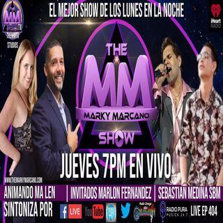 THEMMSHOW INVITADOS EL CANTANTE MARLON FERNANDEZ | SBM MUSIC | COHOST MA LEN