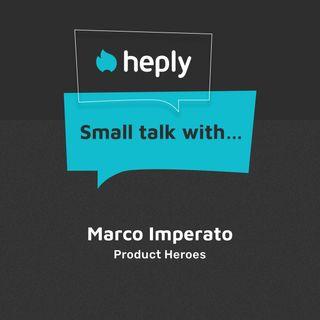 Small Talk With...Marco Imperato