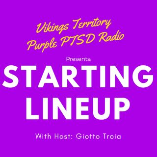 Starting Lineup W/ Giotto Troia: The one with a College Football Guest, a Vikings and Packers Tie and a Le'Veon Rap Track
