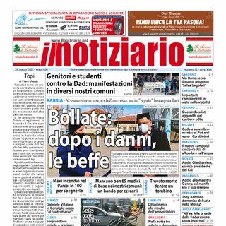 Prima pagina - Il Notiziario del 26 marzo 2021