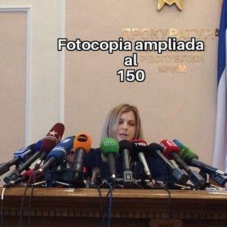 Fotocopía ampliada al 150