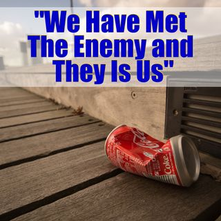 "Mindset Quote: ""We Have Met The Enemy and They is Us."""