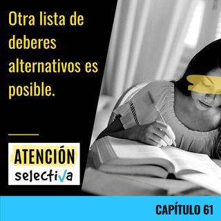 CAPÍTULO 61 - Otra lista de deberes alternativa es posible