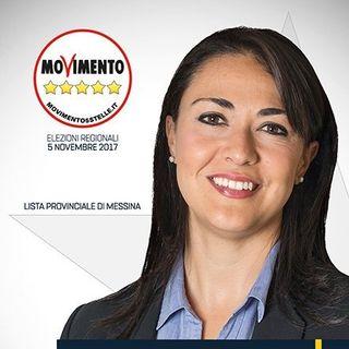 Intervista a VALENTINA ZAFARANA capo gruppo M5S ARS (Regione Sicilia) - Caduta Massi 17 Gennaio 2018