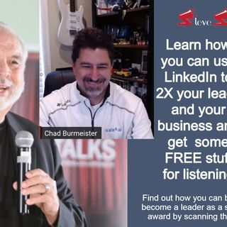 Chad Burmeister showing how to use LinkedIn to 2X your business