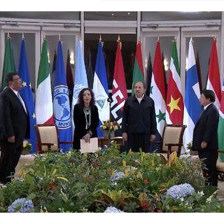 Ortega insulta a la Unión Europea, pero pide apoyo «incondicional» a la comunidad internacional