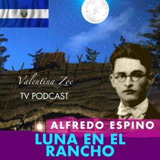 LUNA EN EL RANCHO ALFREDO ESPINO 🌘🏡 | Poema Luna en el Rancho Alfredo Espino 🤠 | Valentina Zoe Poesía 💕