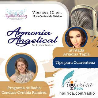 Armonía Angelical Tips de Cuarentena