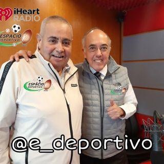 Comenzando la semana con Rudo y Pepe en Espacio Deportivo de la Tarde 07 de Junio 2021