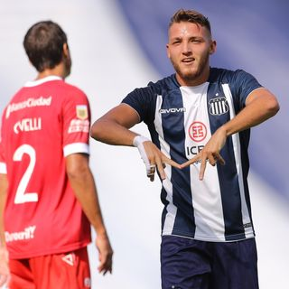 Gol de Talleres: Mateo Retegui 1-0