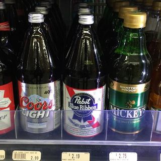 It's Malt Liquor Mania, BROTHER!