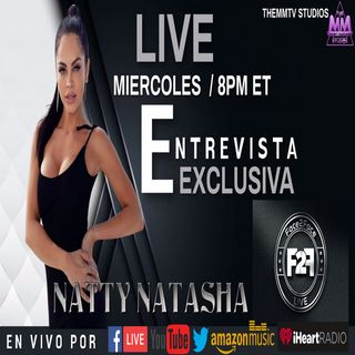 ENTREVISTA  EXCLUSIVA CON NATTI NATASHA EN FACE2FACE LIVE   Powered by TheMMTV Stream