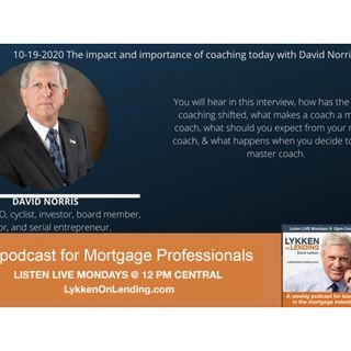 10-19-2020 The impact and importance of coaching today with David Norris