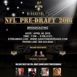 Big Easy Blitz:  NFL Pre-Draft 2016 Show