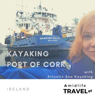 Unexpected Ireland Adventure; Kayak Tour in Cork w Altantic Sea Kayaking