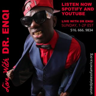 LIVE WITH DR. ENQI - JULY 5, 2020 - 1P EST - (516) 666- 9834