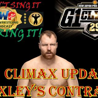 G1 Climax Update - Jon Moxley's Contract