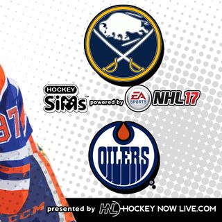 Sabres vs Oilers (NHL 17 Hockey Sims)
