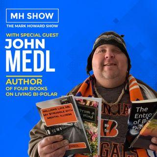 John Medl - Author of Five Books On Living Bi-Polar