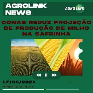Podcast: Conab reduz projeção para o milho safrinha e presidente manifesta apoio ao agronegócio