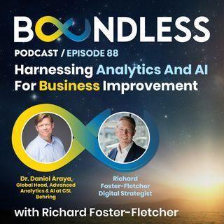 EP88: John K Thompson, Global Head, Advanced Analytics & AI: Harnessing analytics and AI for business improvement