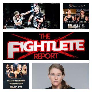 Fightlete Report InvictaFC25 Alexa Connors Interview