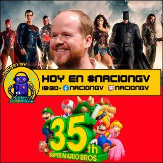 Polemica en Liga de la justicia y 35 aniversario de Mario - 6 de septiembre