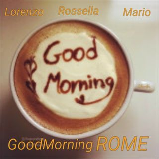GoodMorningRome! 16/10/17