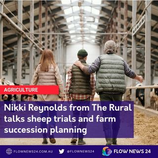 Nikki Reynolds from The Rural newspaper on sheep trials and farm succession planning