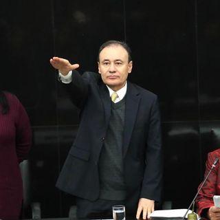 Comparece Alfonso Durazo en el Senado