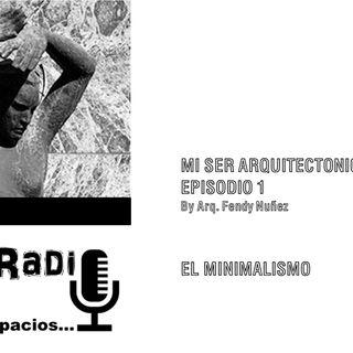 ARQUITECTURA Y MUSICA MINIMALISTA