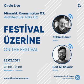 Mimarlık Konuşmaları 03: İstanbul Mimarlık Festivali Üzerine / Yüksel Demir & Sait Ali Köknar