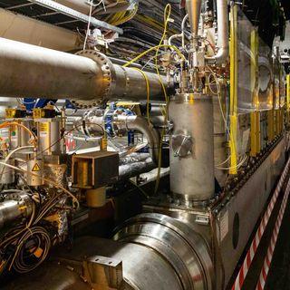Forschungszentrum CERN, Grundsteinlegung (am 10.6.1955)