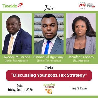 What is Your 2021 Tax Strategy?